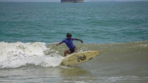 Subbu manoeuvring at Mantra Grom Search