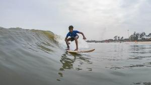 Mantra Grom Search - Subbu posing for the perfect shot!