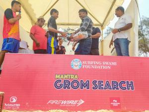 Mantra Grom Search - Naman bags first prize - under 13 boys